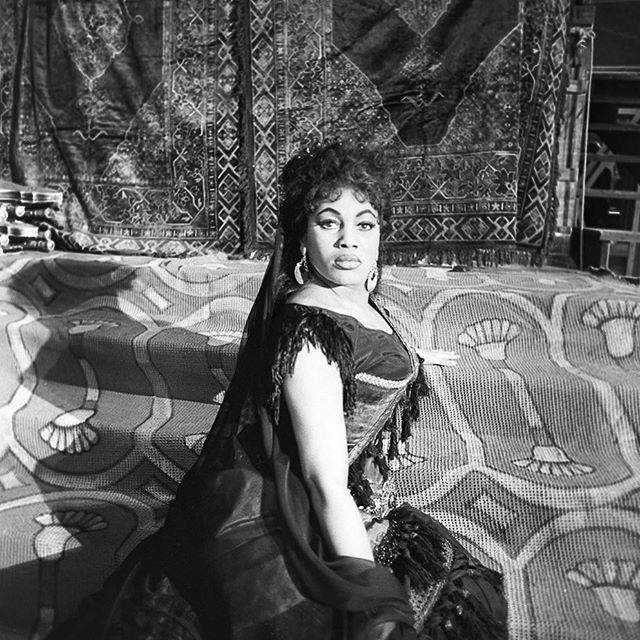 #blackhistorymonth : Leontyne Price is known as an American opera singer and the first black person to achieve a world renowned status in the field. #leontyneprice #blackwomenrock #womenwhodare #strongwomen #shewhodares #femalesingers