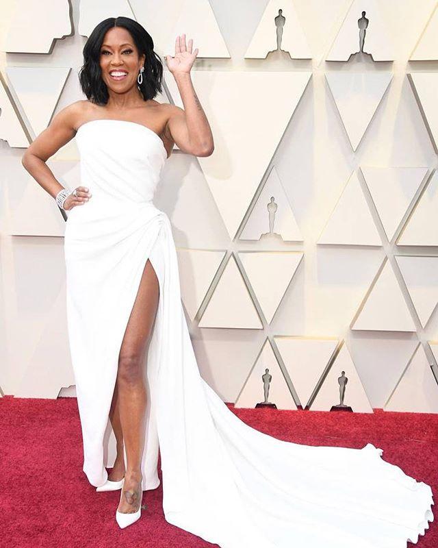 There was so much #blackgirlmagic at the Oscars last night. What was your favorite look? 🎬🌟 #oscars2019 #shewhodares #womenwhodare #reginaking #amandlastenberg #blackhistorymonth