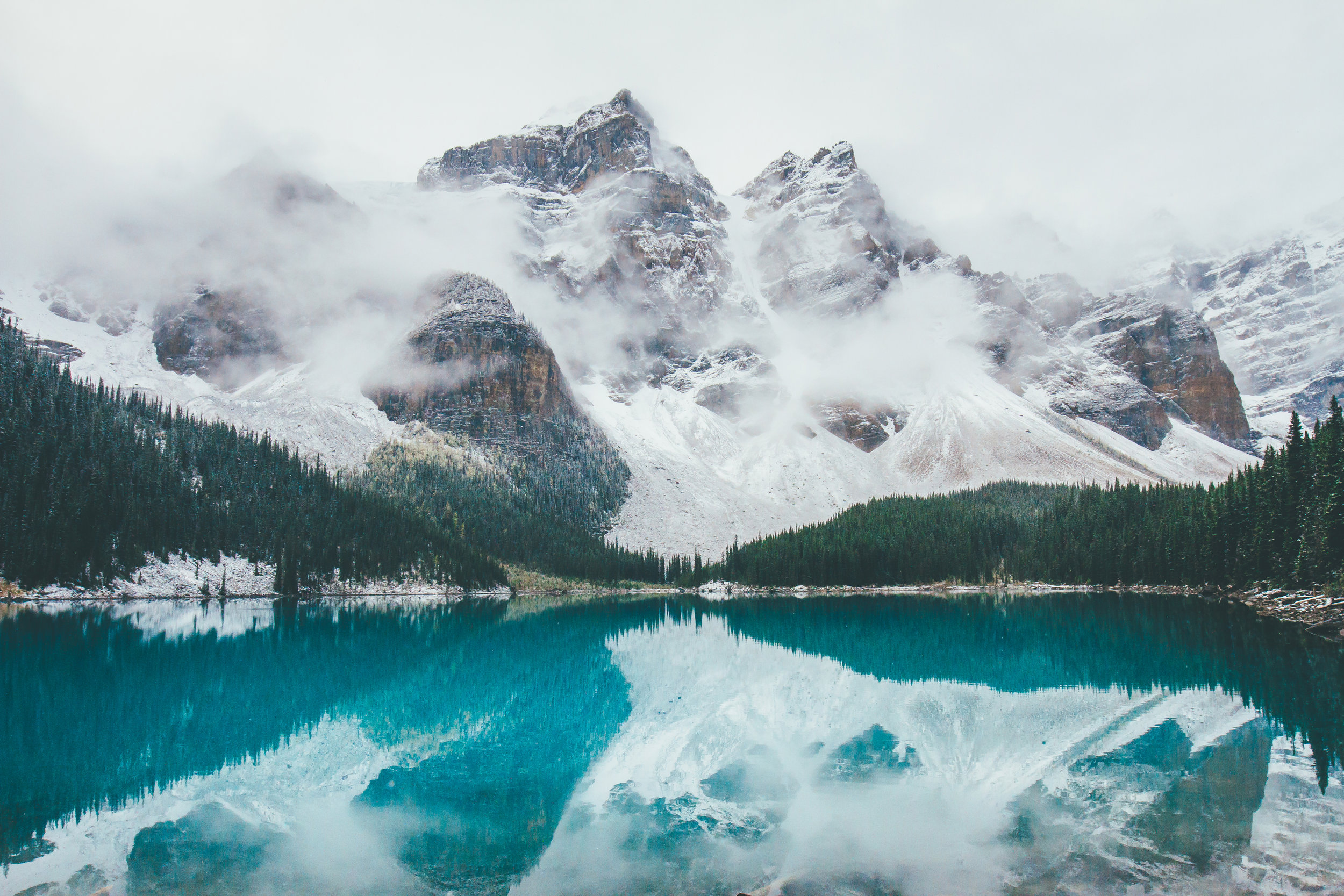MORAINE LAKE, AB - The Quest For The Perfect Shot Of My Own