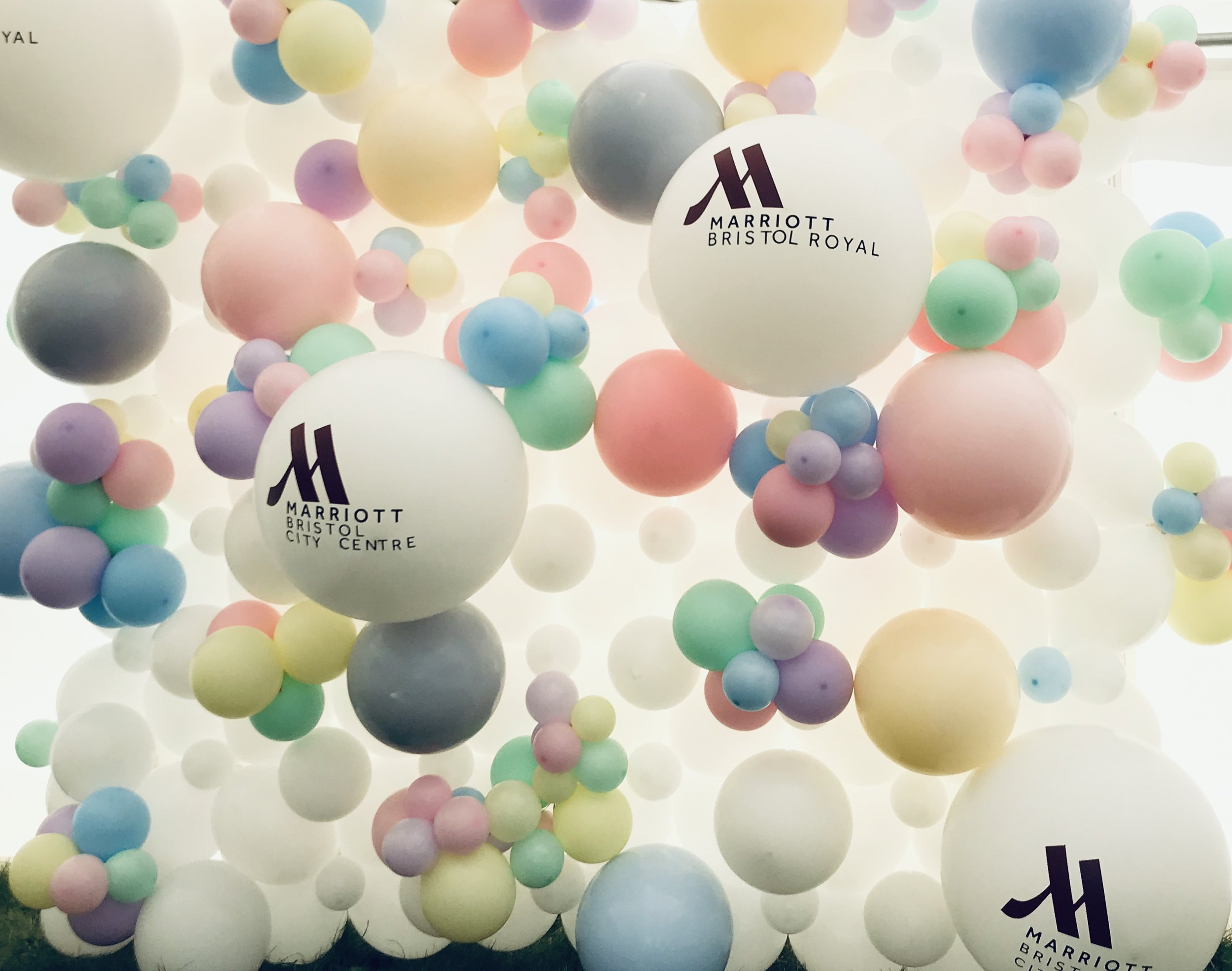Branded Organic Balloon Wall
