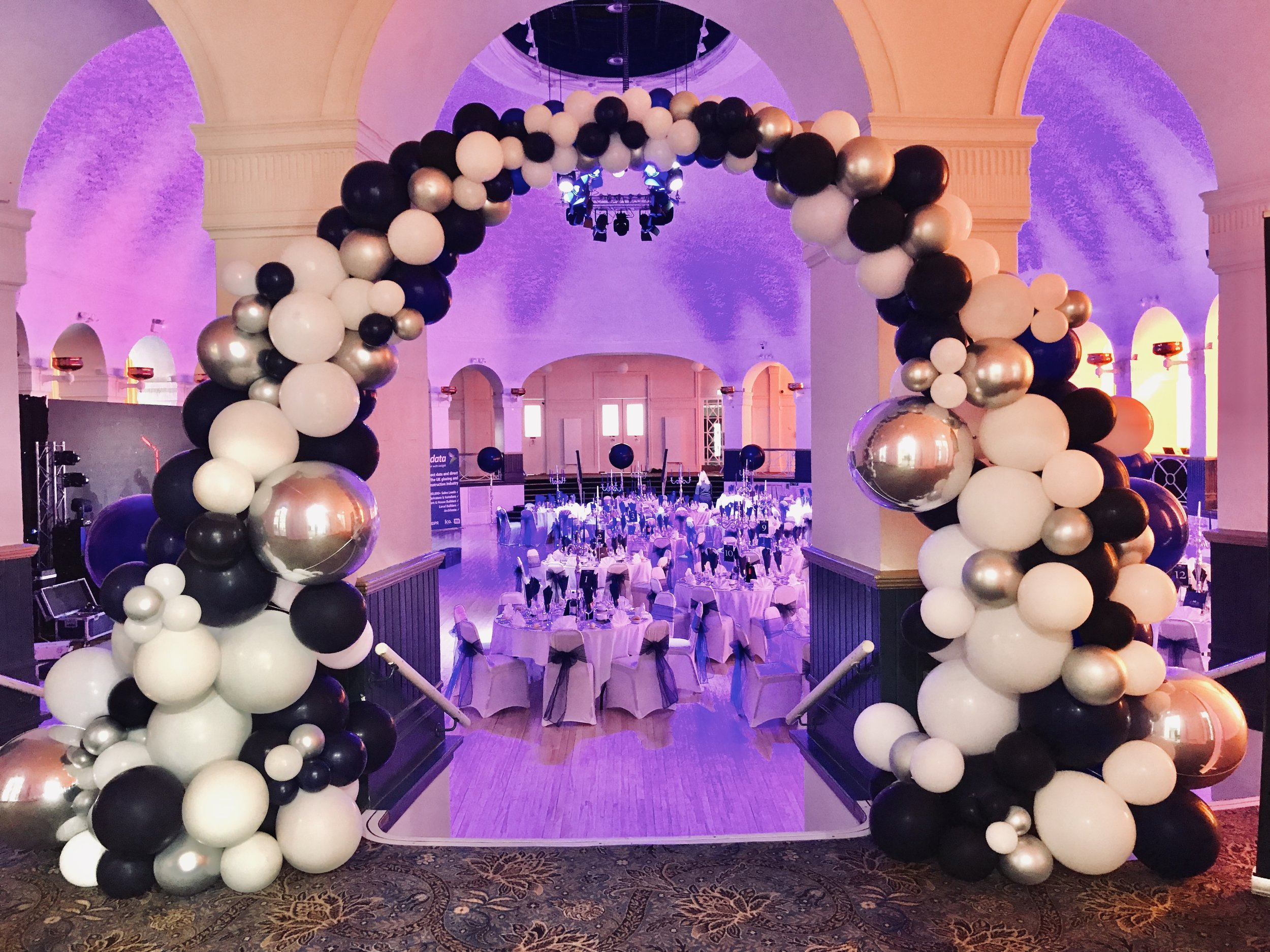 Corporate Balloon Arch Ascot Group Summer Ball.jpg