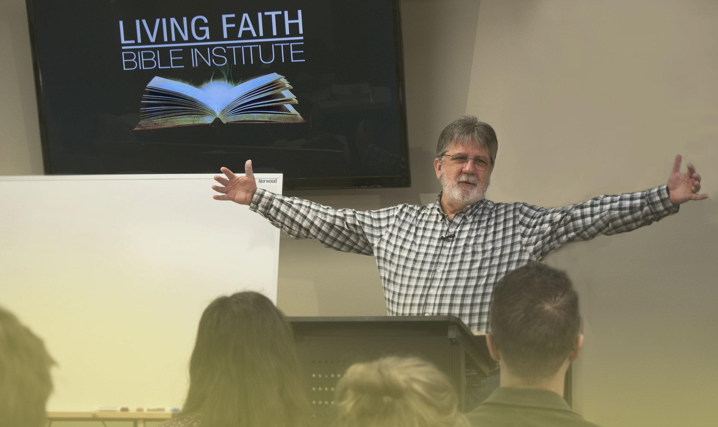 Pastor Greg Axe teaching Bible Hermeneutics