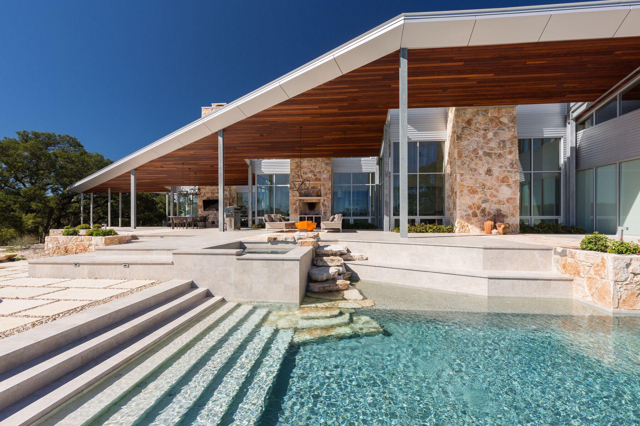 Luxury Pool in Wimberley