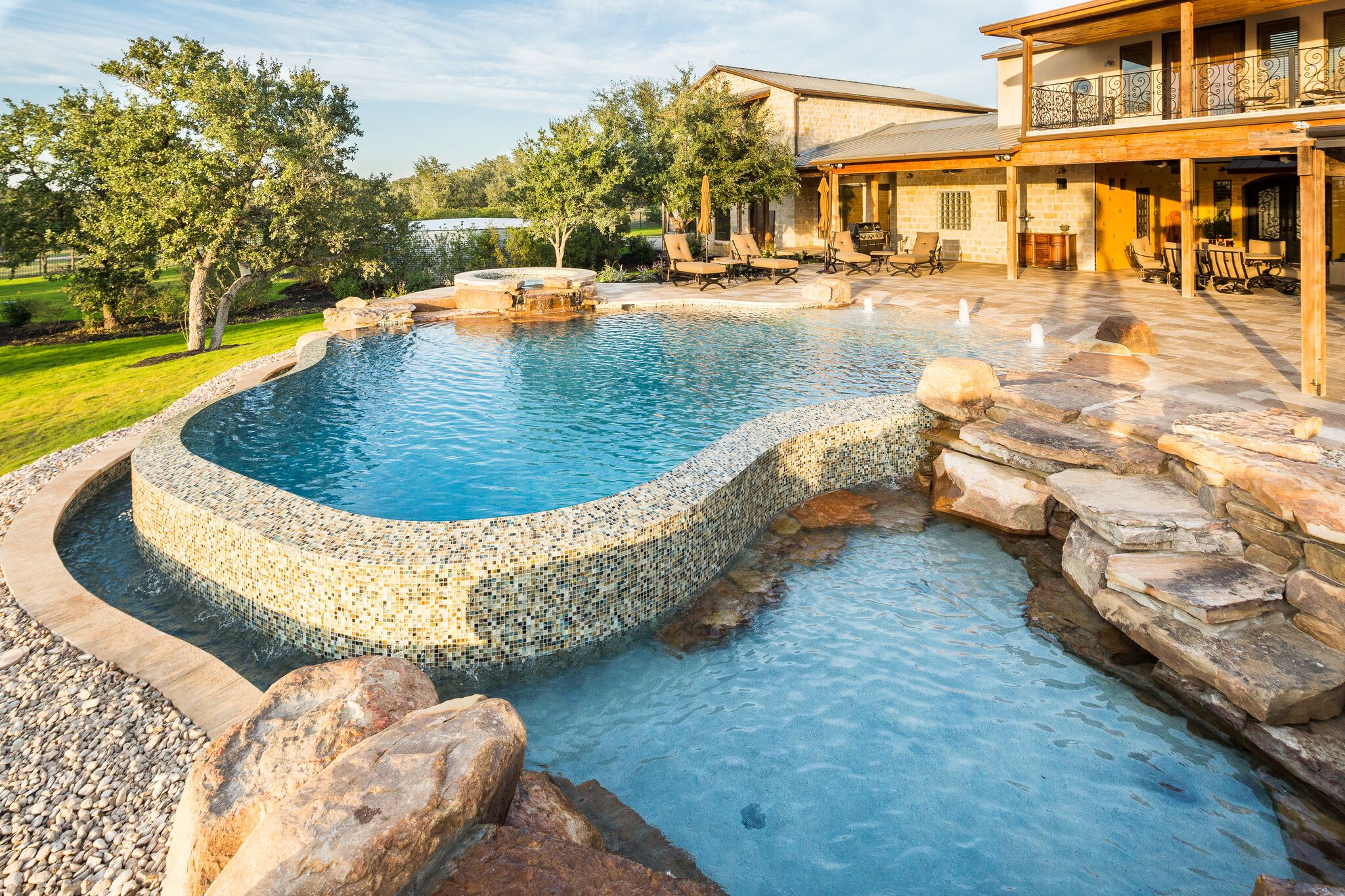 Custom spas in Spicewood, TX