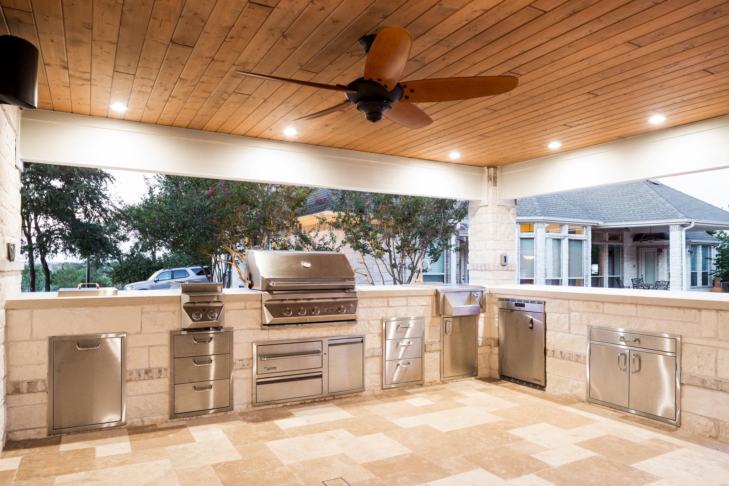 Austin Outdoor Kitchen Contractor