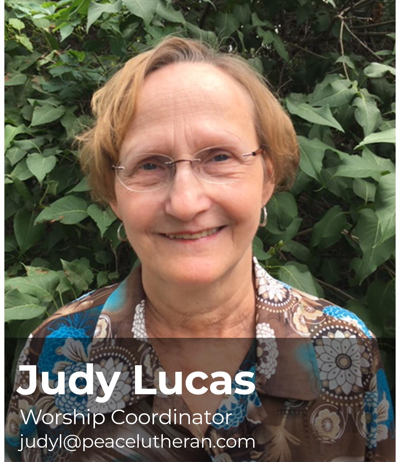 Judy Lucas