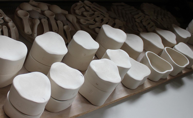 Drying pots