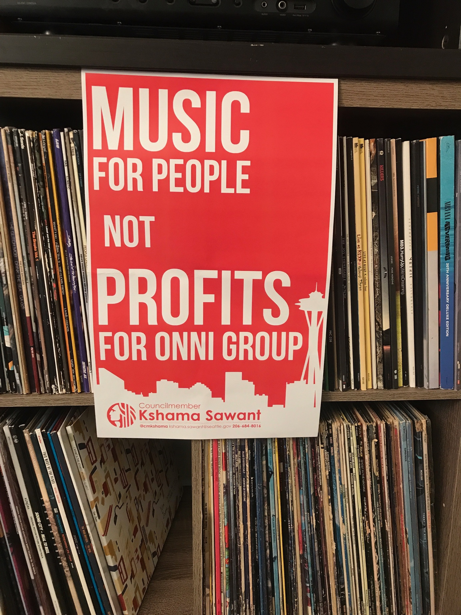 save the showbox music for people not profits for onni group flyer