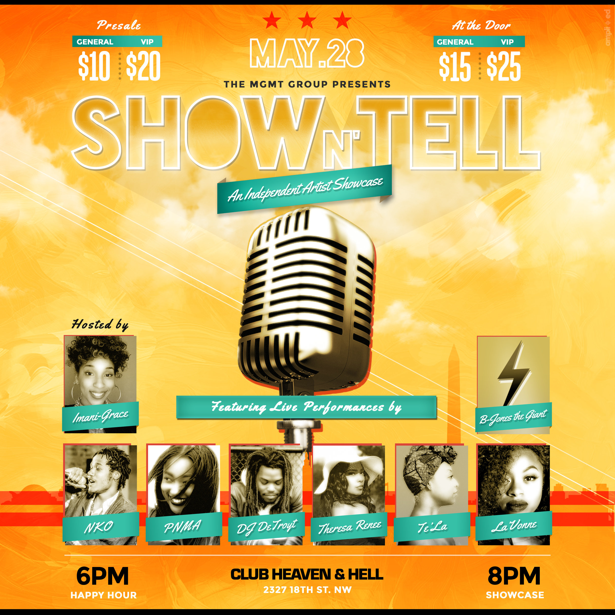 Show N' Tell: An Independent Artist Showcase #IssaVibe