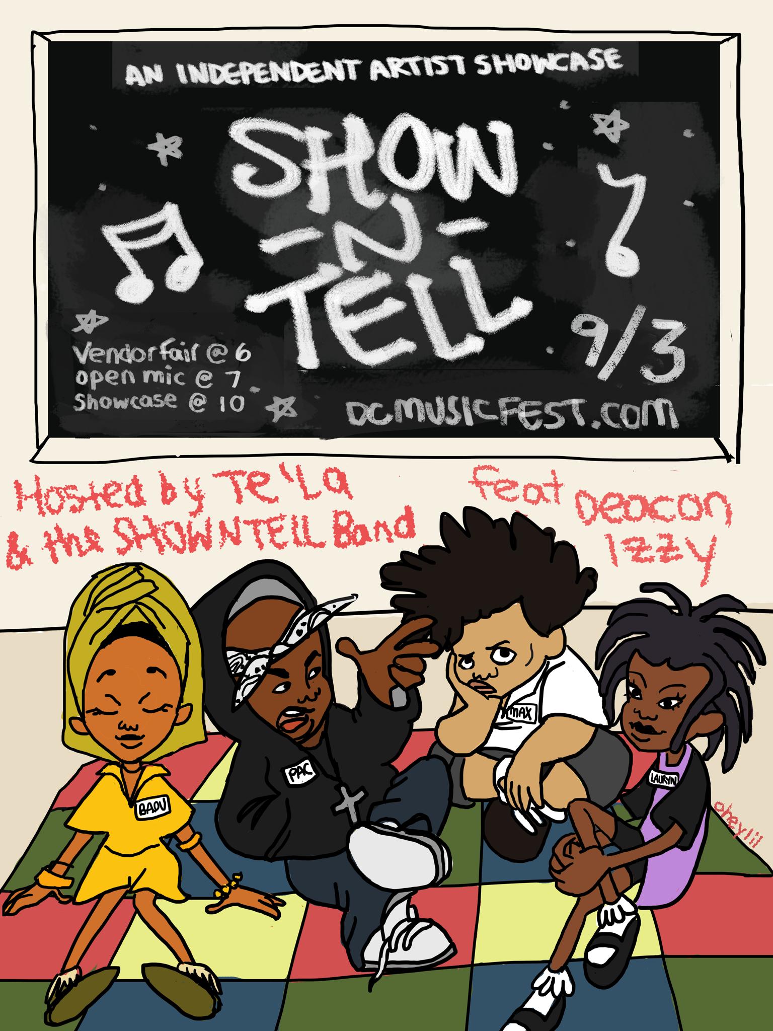 Show N' Tell Fo