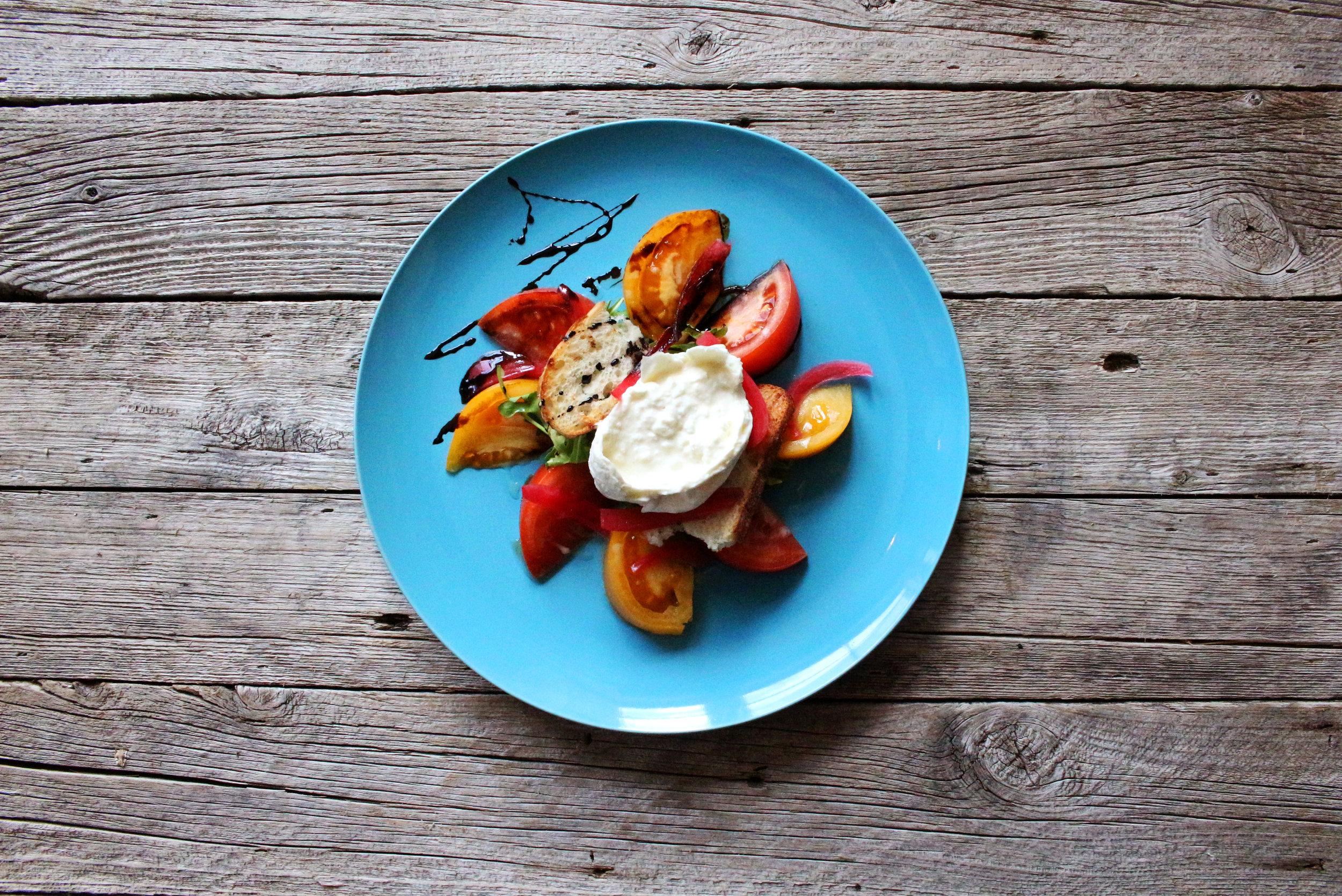 Vine Ripened Heirloom Tomato Salad.JPG