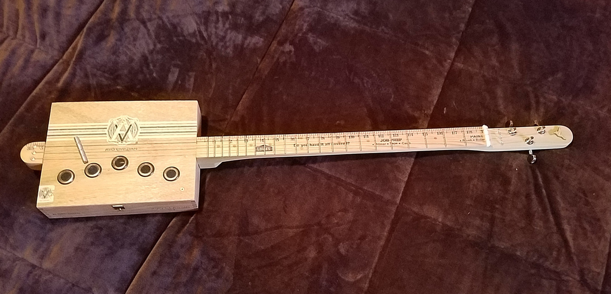 Acoustic Cigar Box Guitar