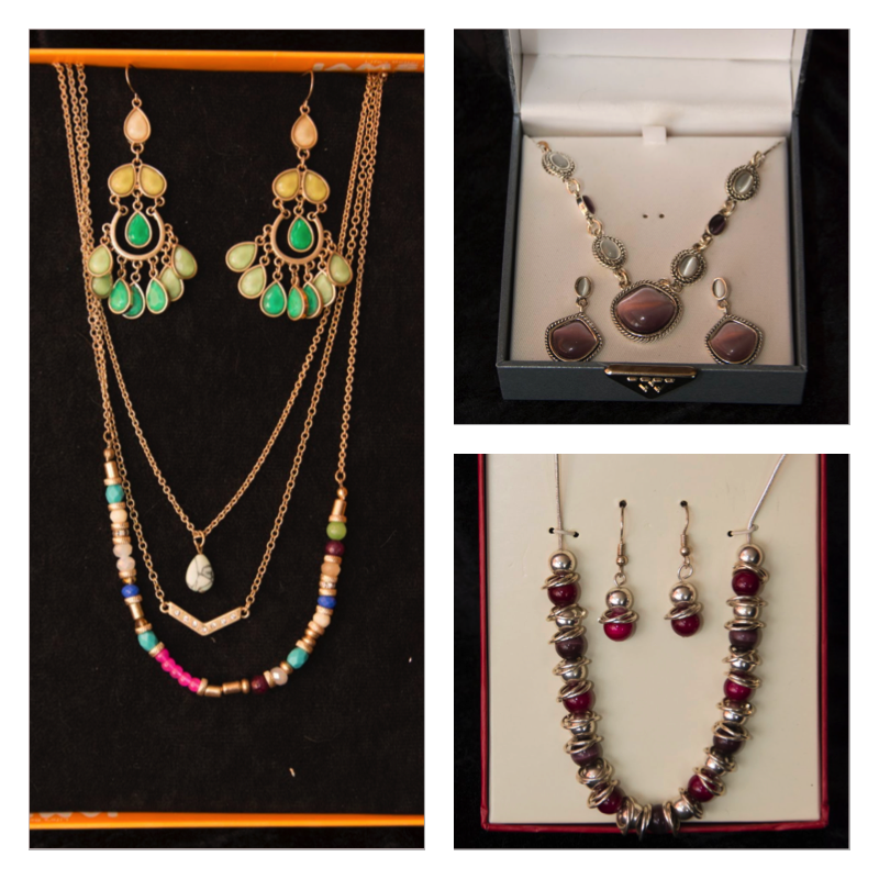Three Sets of Jewelry