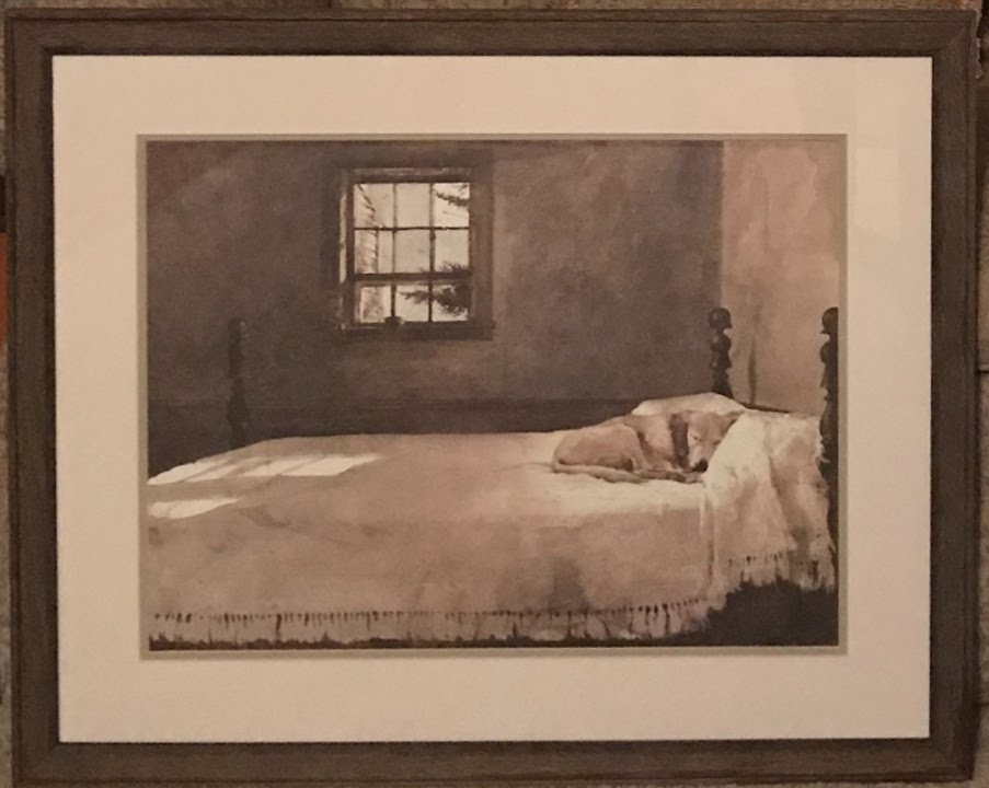 Andrew Wyeth Framed Print