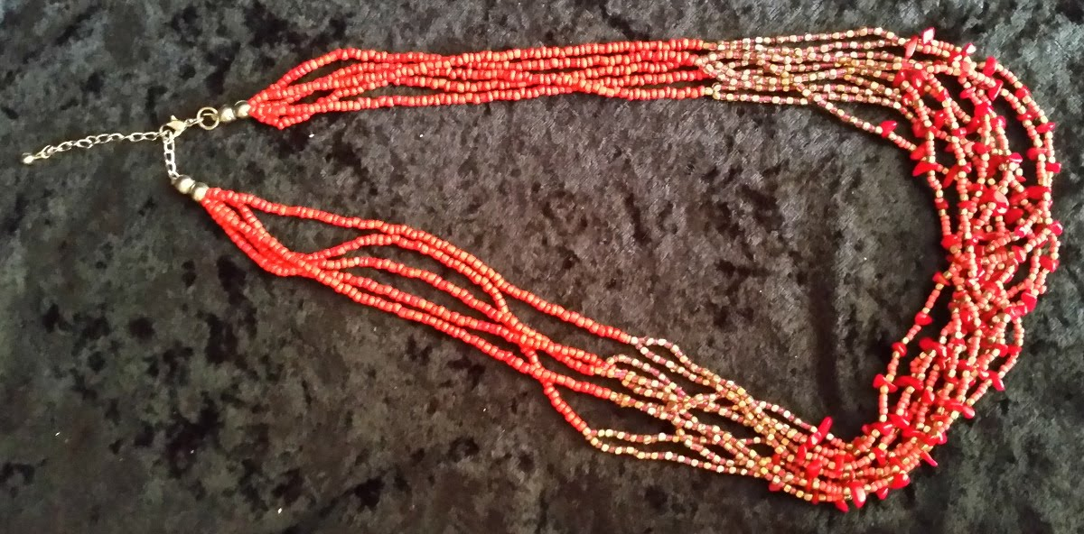 Coral & Beads