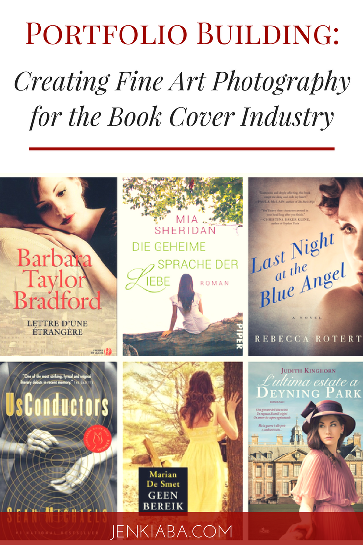 Learn what it takes to sell your fine art photography for book covers!