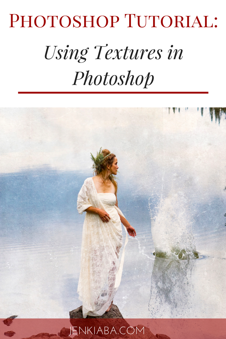 Learn how to use Photoshop grunge textures to enhance your fine art photography.