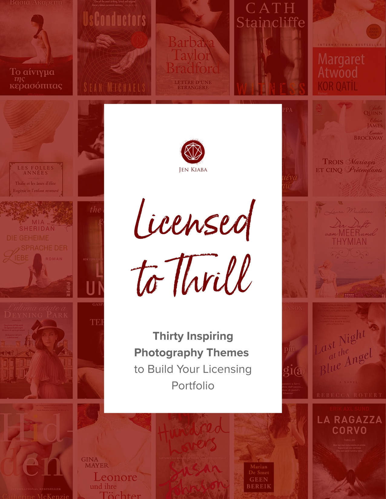 Licensed to Thrill - 30 Photography Prompts To Build A Book Cover Licensing Portfolio