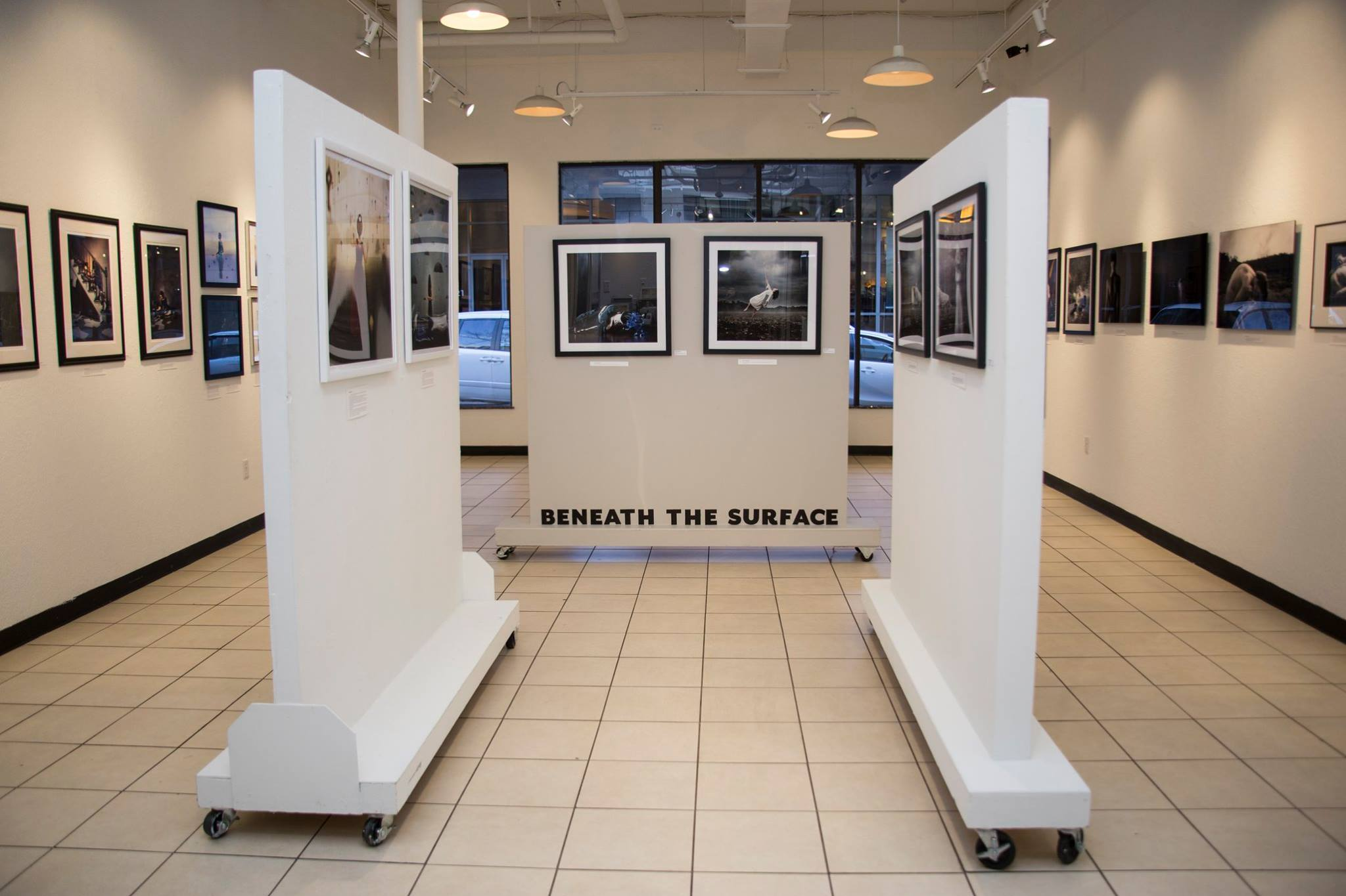 """the """"Beneath the Surface"""" Group Exhibition at  Gallery 29  in Orlando, FL hosted and curated by Goss."""