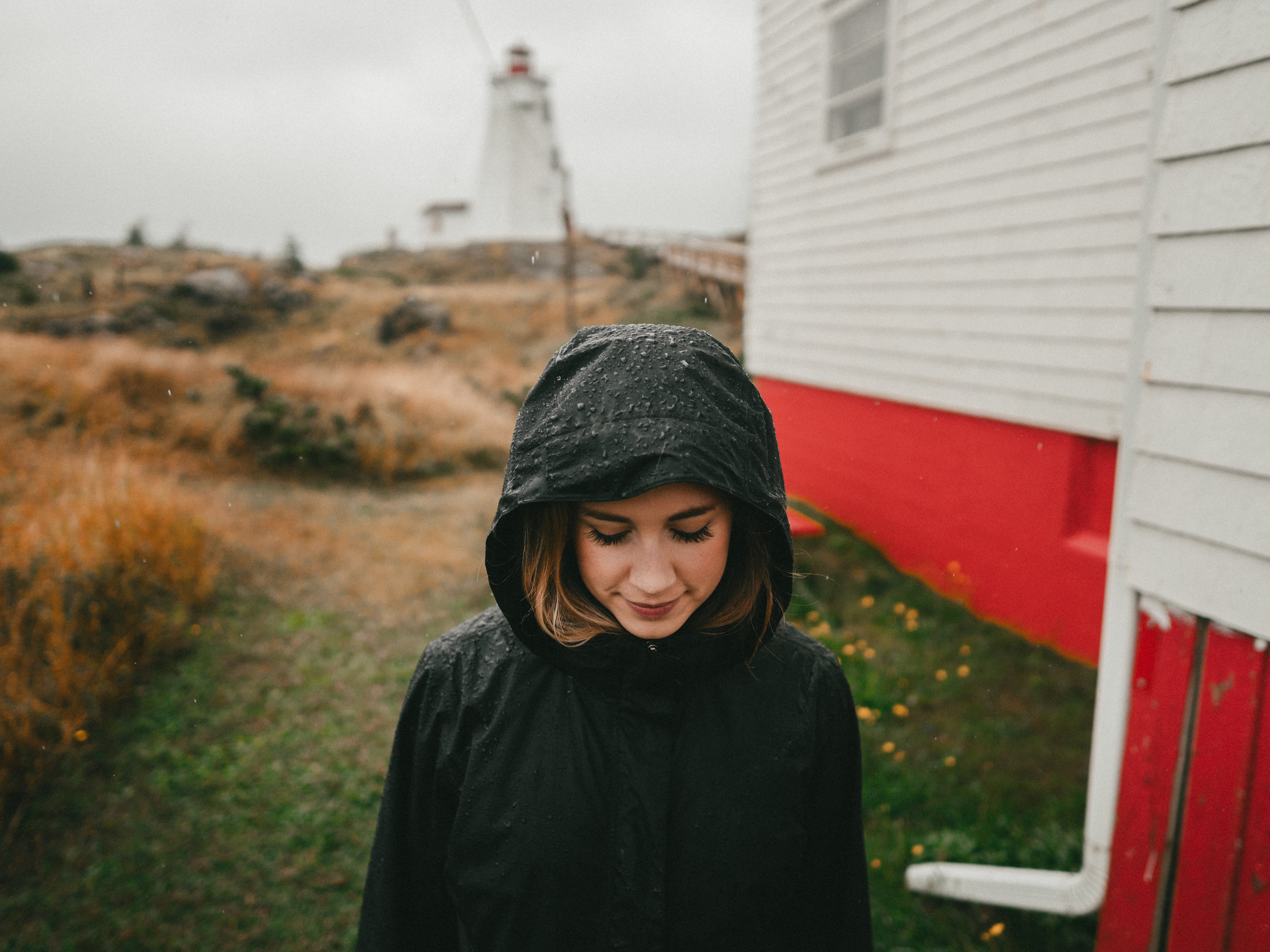 Rainy Day at Swallow Tail Lighthouse