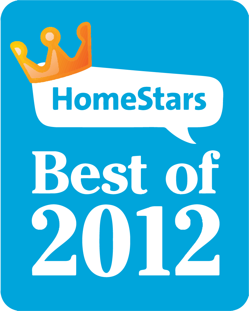 Winner - HomeStars Best of 2012
