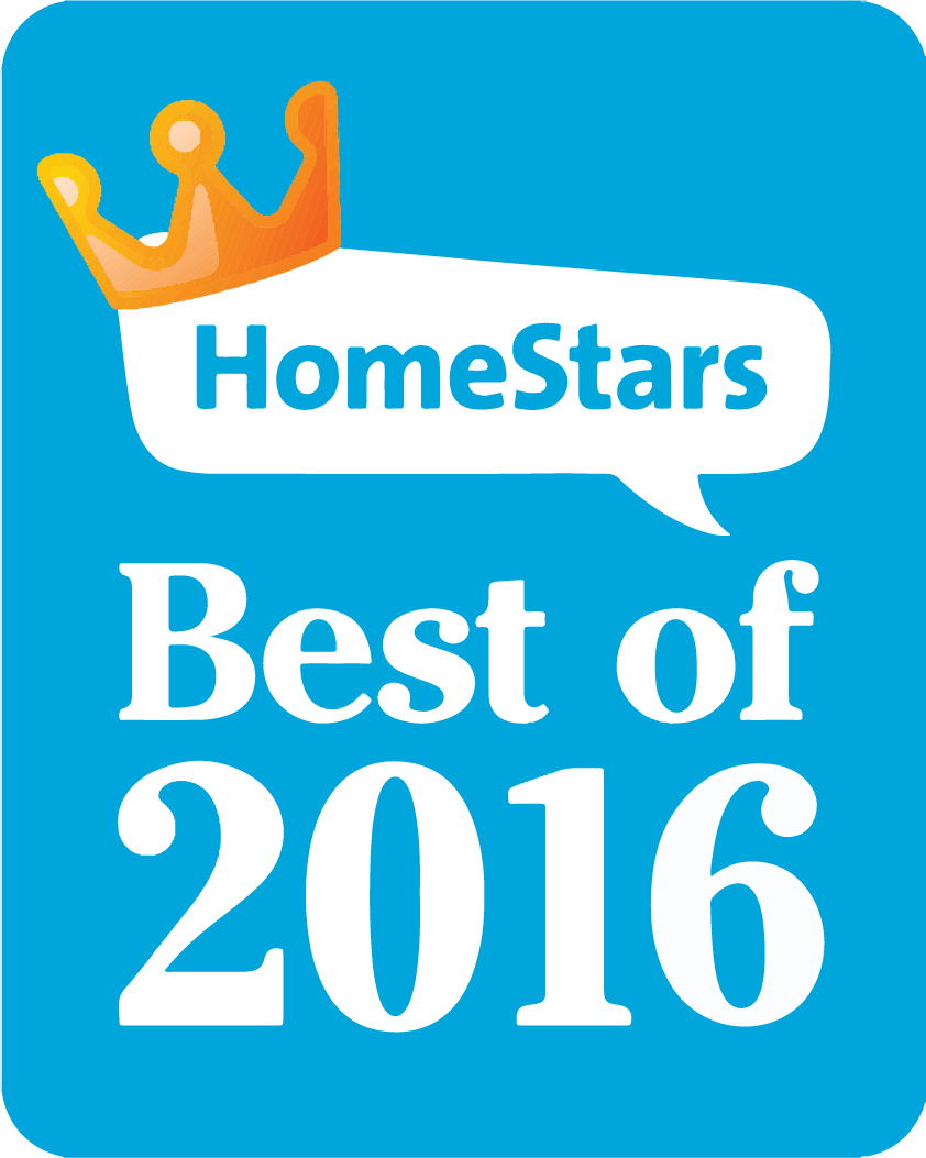 Winner - HomeStars Best of 2016