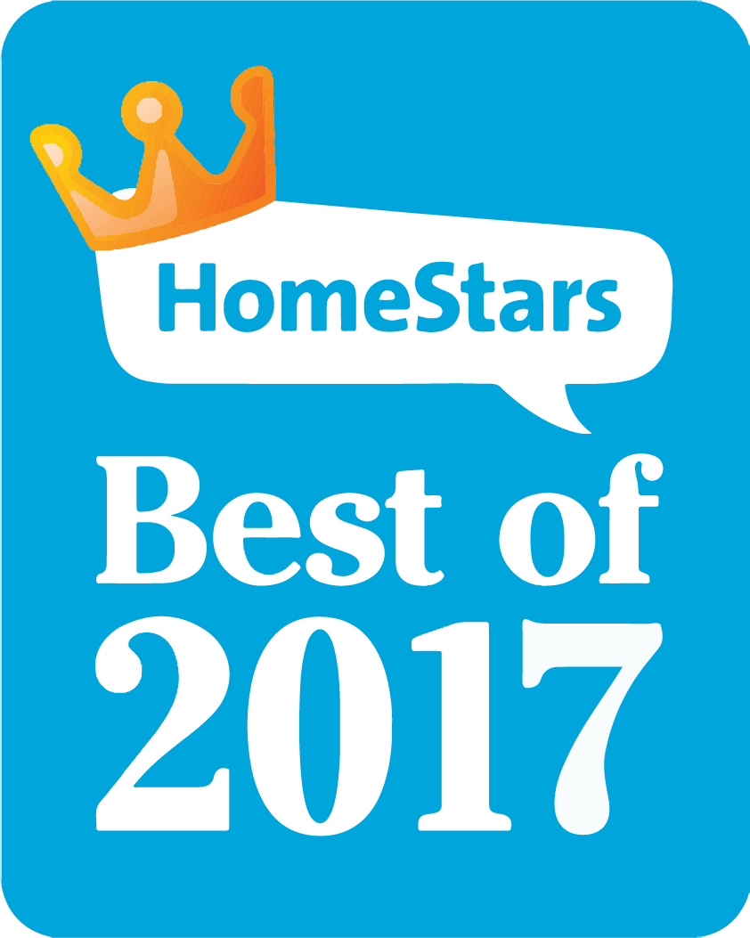 Winner - HomeStars Best of 2017