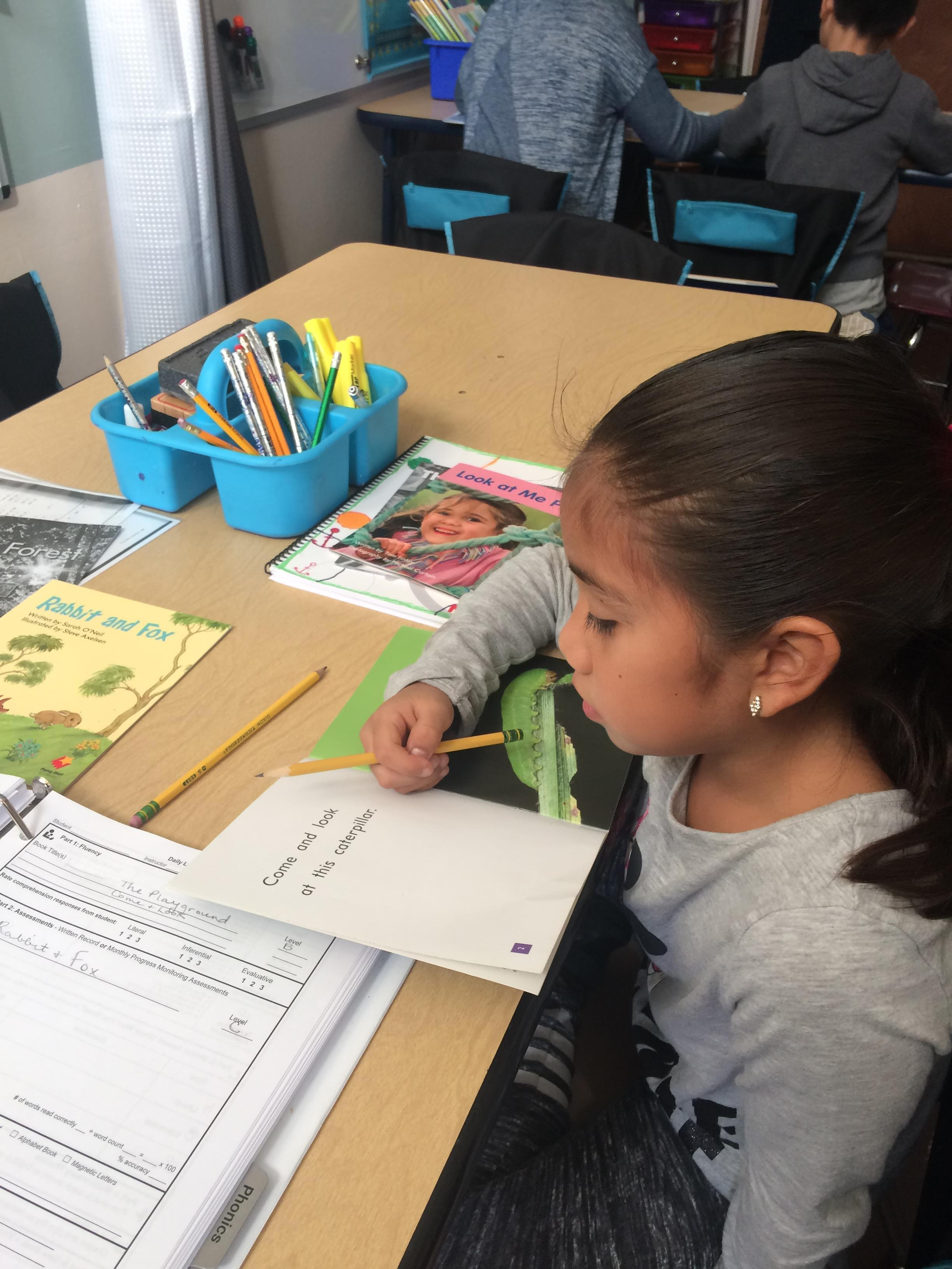Reading Rescue is... - a professional development program and a one-on-one research-based literacy intervention geared towards struggling first graders.Learn More