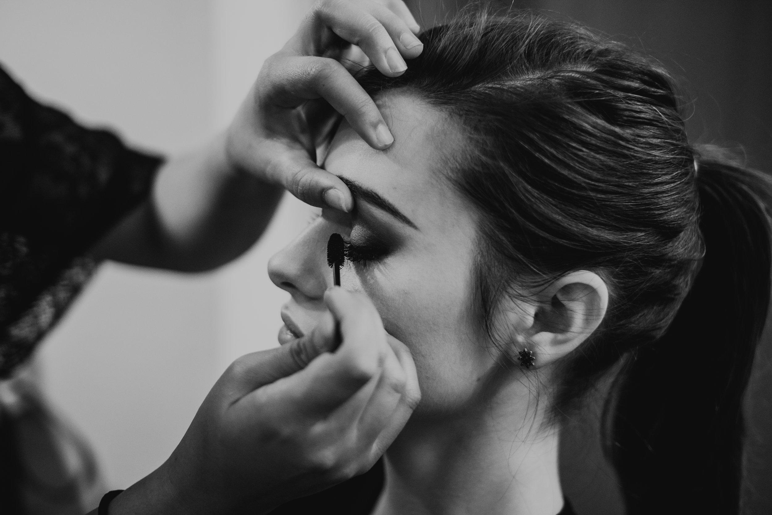 Briana de Bengson makeup artist wedding bridal