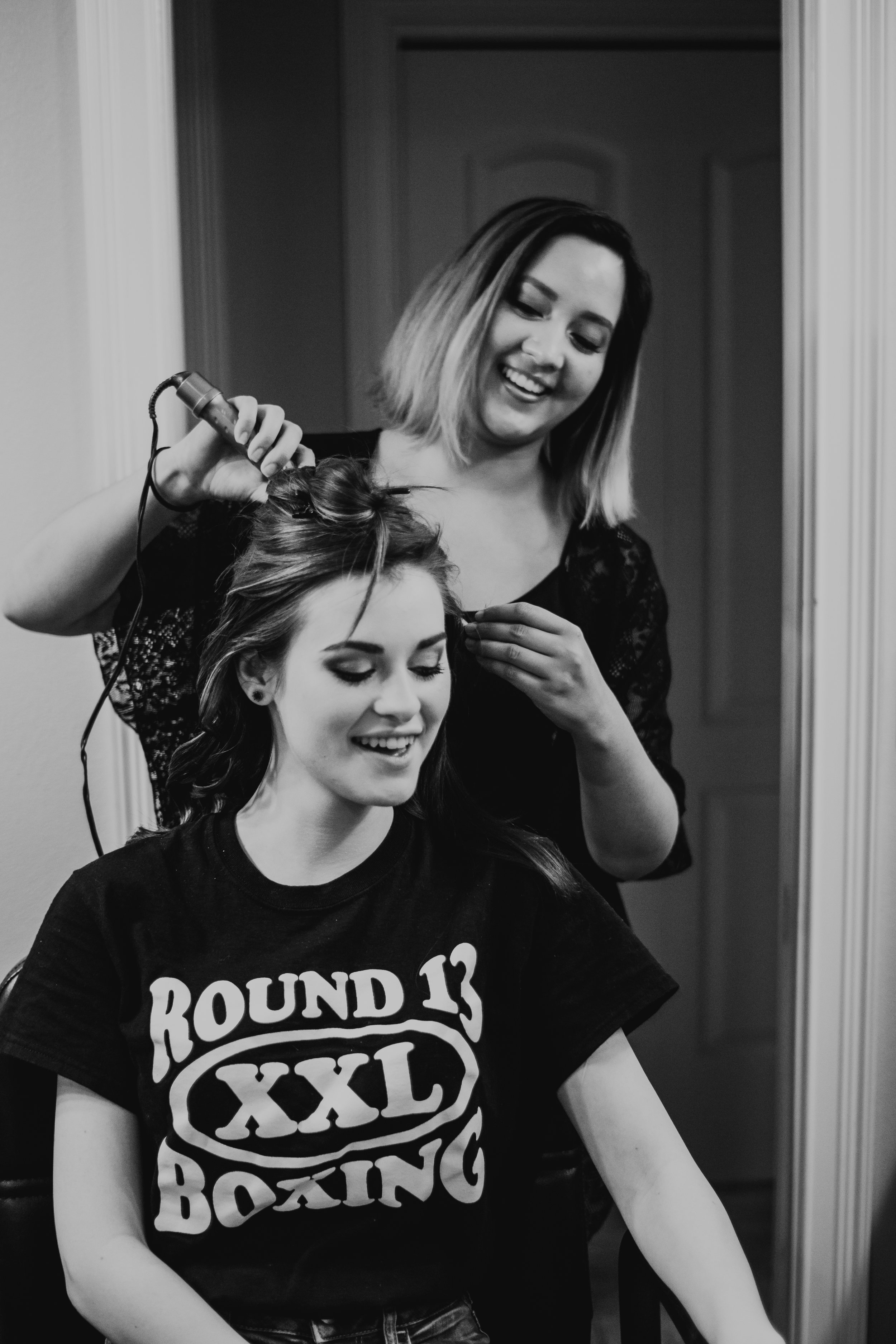 curling hair, bridal hair, florida