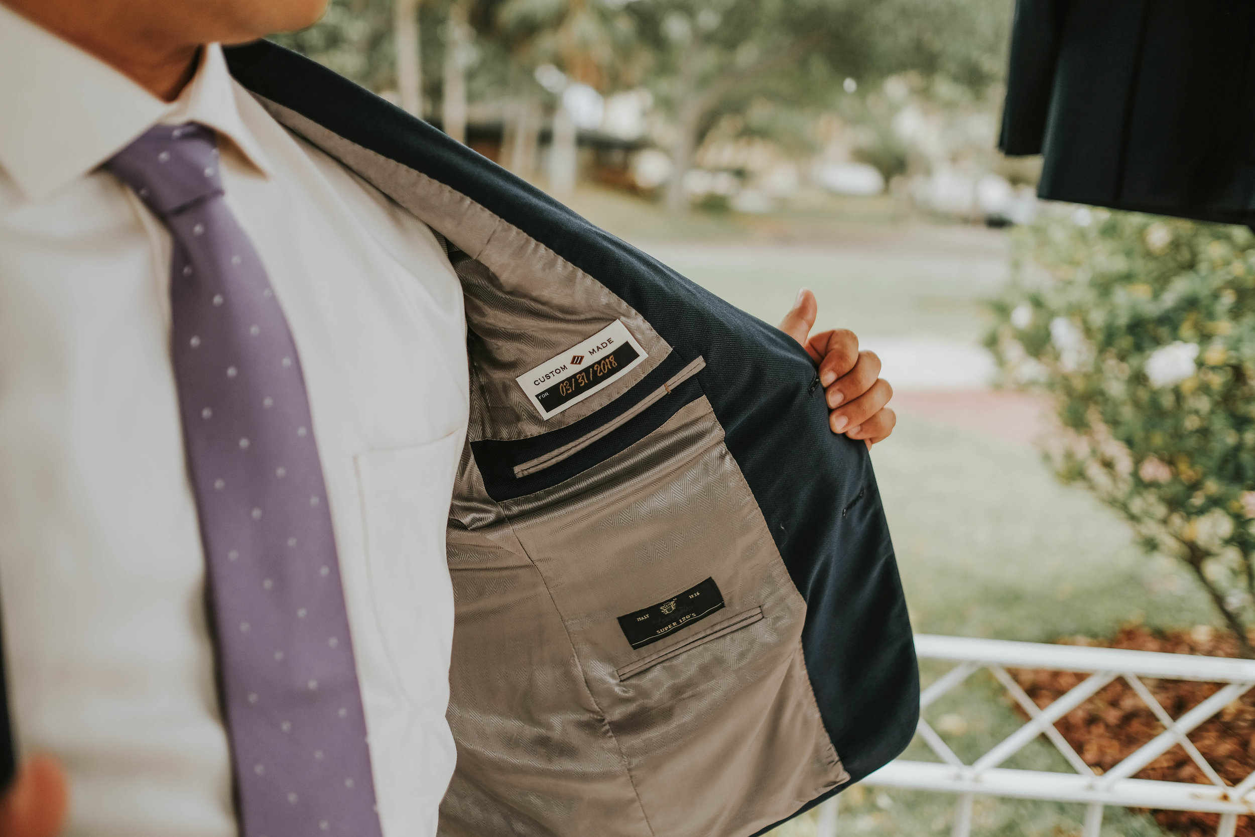 custom tailored blazer