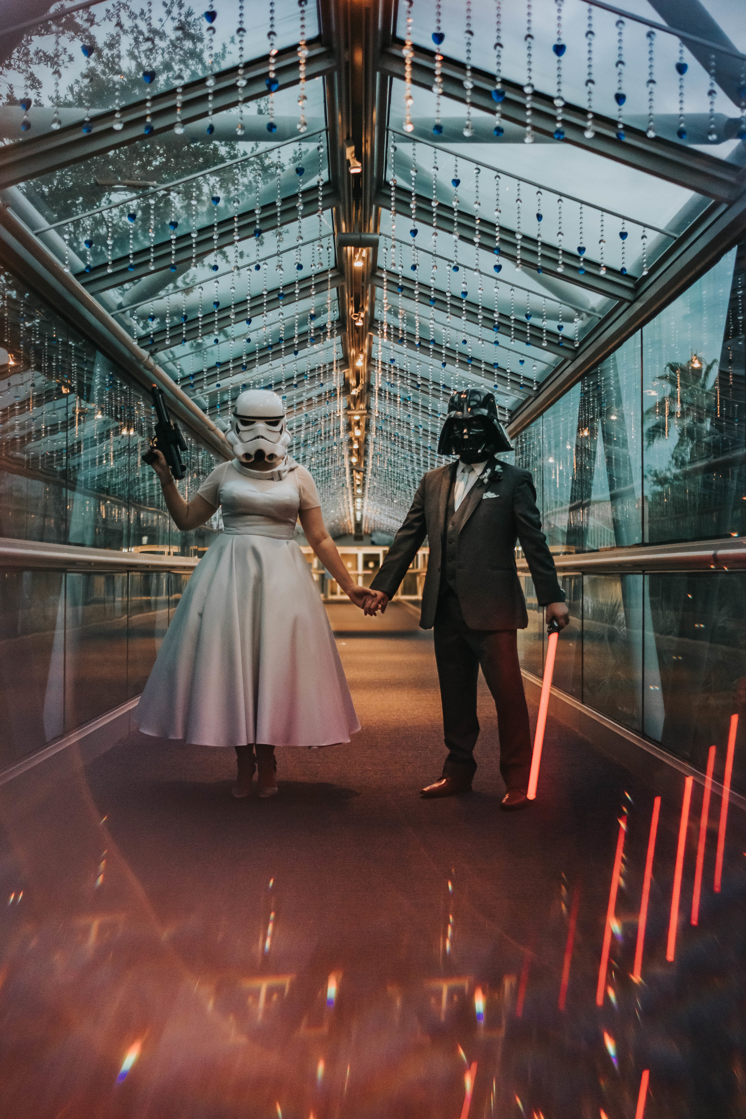 Orlando science Center-wedding-starwars-engagement session giveaway