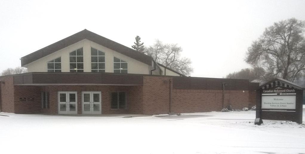 Carman East Canadian Reformed Church - 112 4 Ave SE, Carman