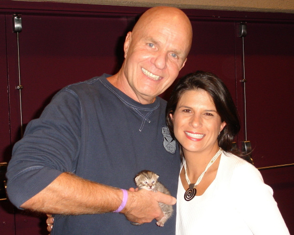 Spiritual Kitty Connections with Wayne Dyer! -