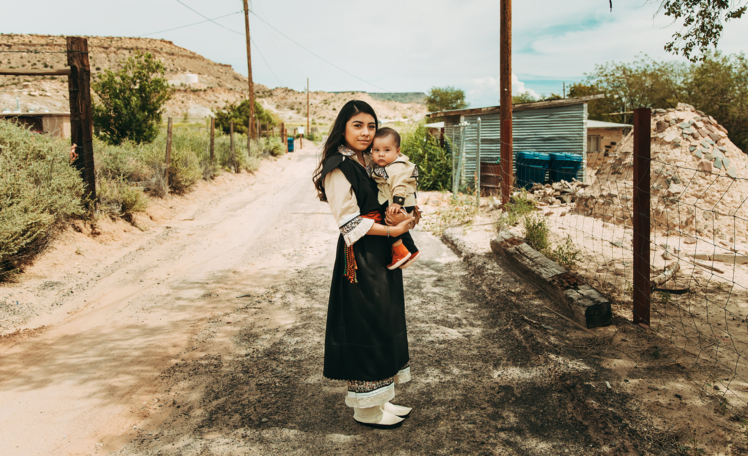 New Mexico Breastfeeding Mothers - A project focused on making breastfeeding more visible and less stigmatized amongst indigenous communities in New Mexico.