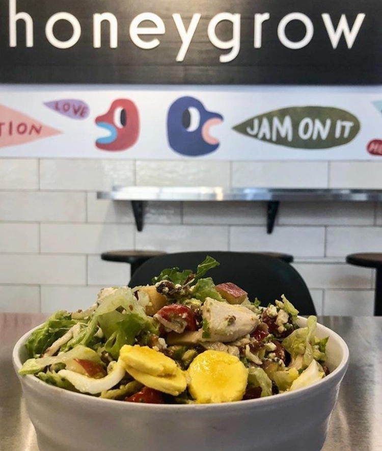 Honeygrow  High quality, wholesome, and delicious food.
