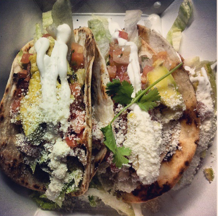 Calle Del Sabor  Food truck offering a variety of Caribbean & Latin cuisine.