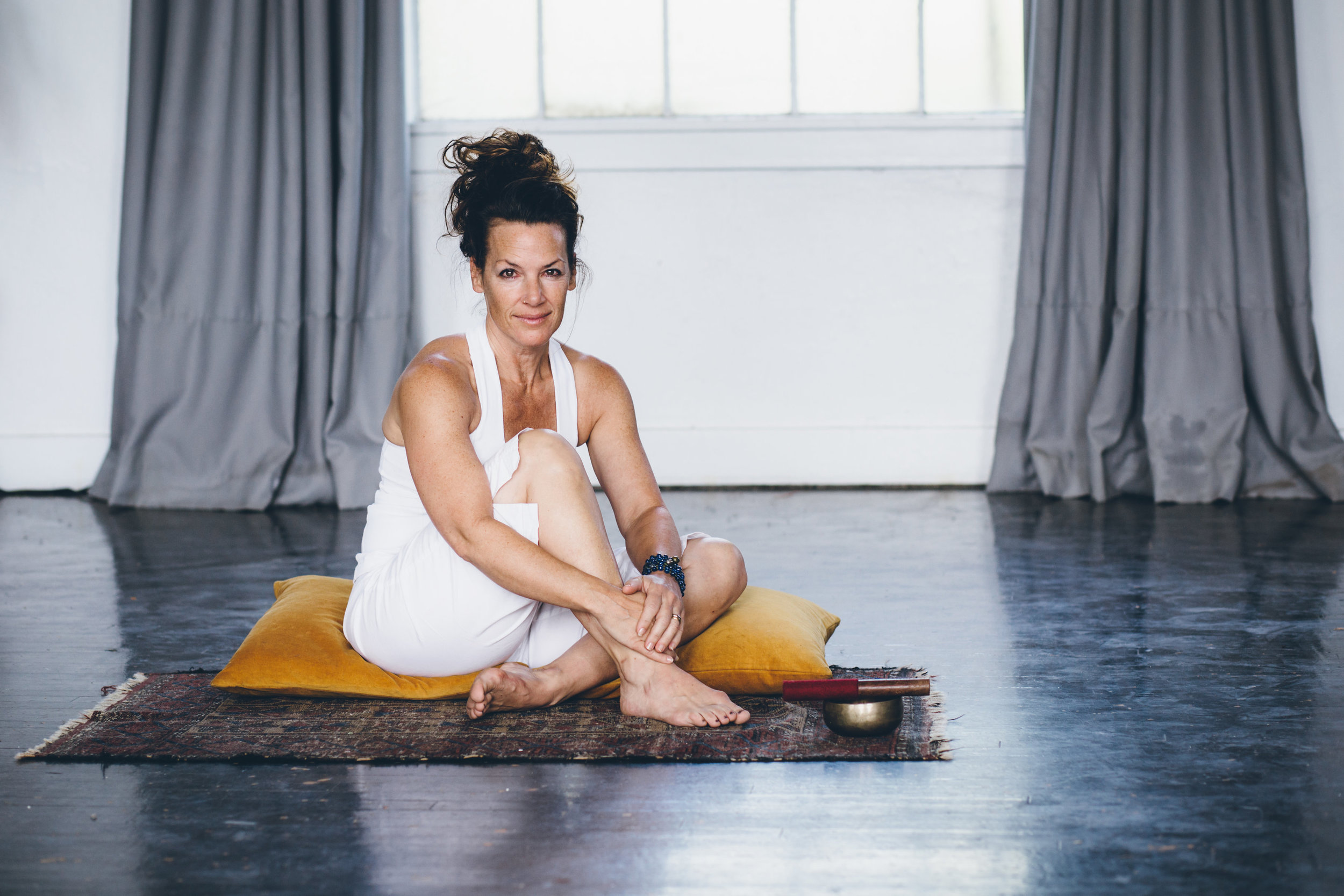 Tina Porter is a nationally recognized Yoga and Meditation teacher located in Denver, CO. She focuses on the psychology of Yoga and integration of breath into every day life. She currently teaches at    select studios    in Denver, leads events and offers private programs to both individuals and corporations. Tina has taught classes, workshops and retreats all over the world and has been noted in renown publications such as Top of the Town, 5280 Magazine, Origin, Shape, Yoga Journal and The Denver Post    Tina Porter Yoga  is a multi-dynamic experience; a merging of movements that combines balanced sequence with elements of physical exercise, mindfulness, meditation and breath work.Tina's classes blend Yoga and Psychology. Through her ever-evolving series of flowing poses and guided breathing techniques, your body will physically open while also stretching the space between thought forms.