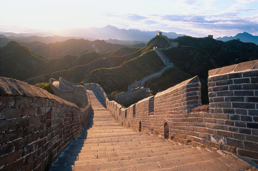 Spanning about 5,500 miles with an average height of 25 meters, the Great Wall of China is truly remarkable. The most recognizable part of it took the better part of 100 years to build, but many sections took centuries. Hundreds of thousands, if not millions, died building this wall.