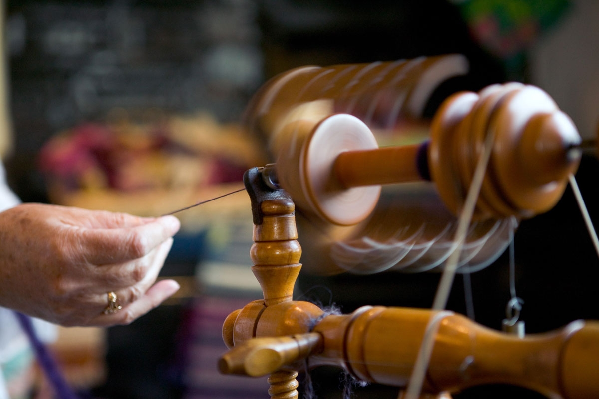 Trefriw Woollen mills - A family business since 1859, Trefriw manufacture traditional Welsh
