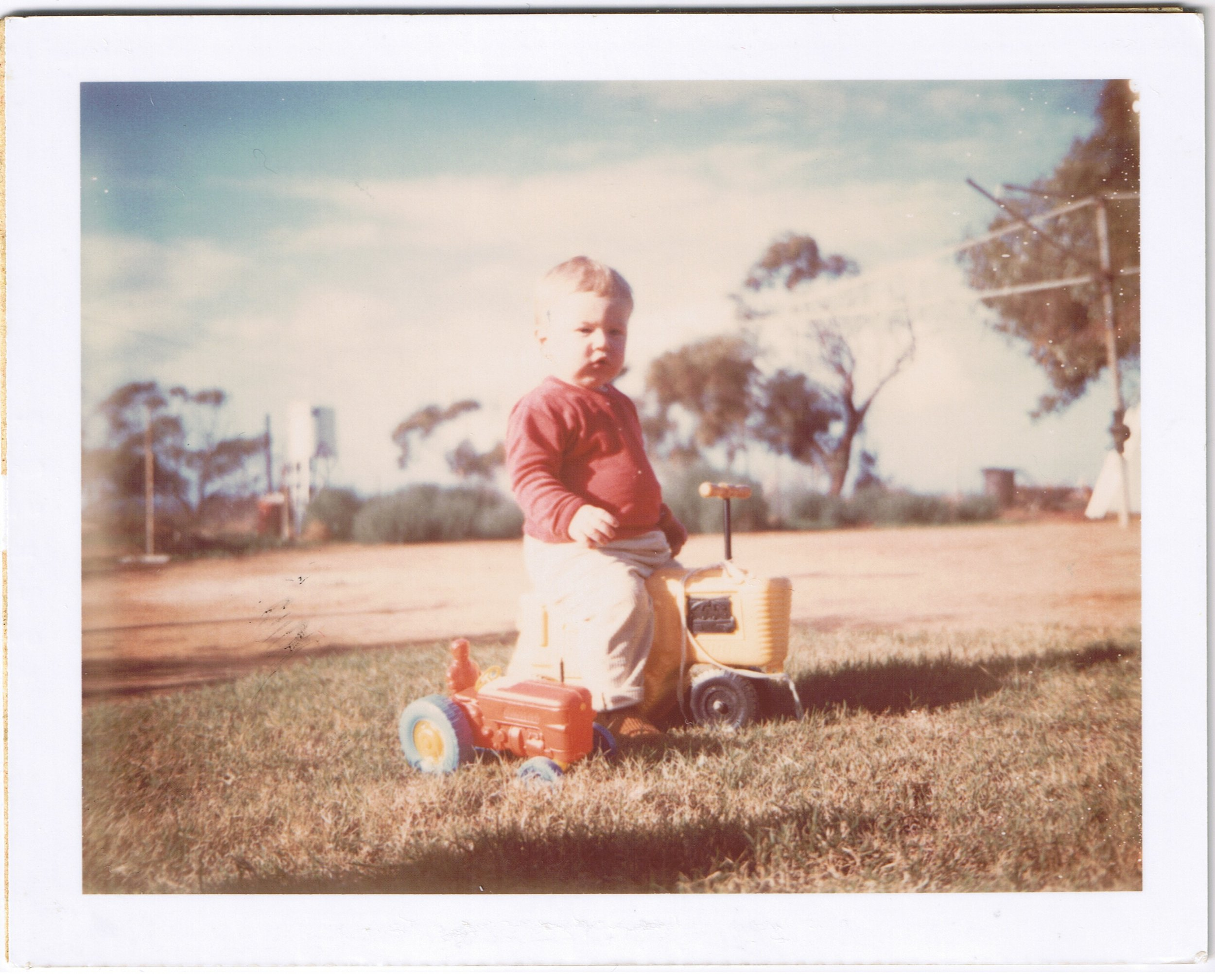 It was 1969. Two blokes had just walked on the moon. Meanwhile, Brendon was driving tractors on the farm and hoping conscription would be abolished before he turned 18.