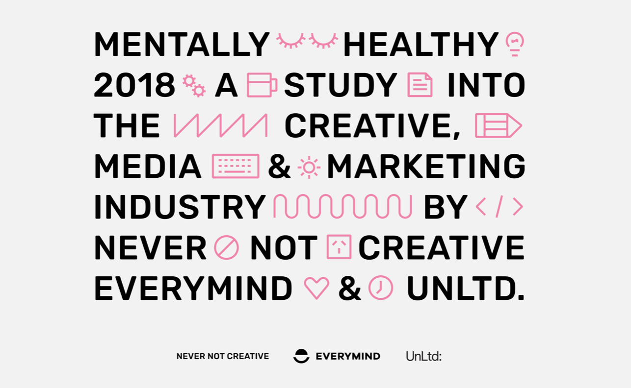 The Mentally Healthy 18 study ran during August and September, 2018, with over 1,800 participants