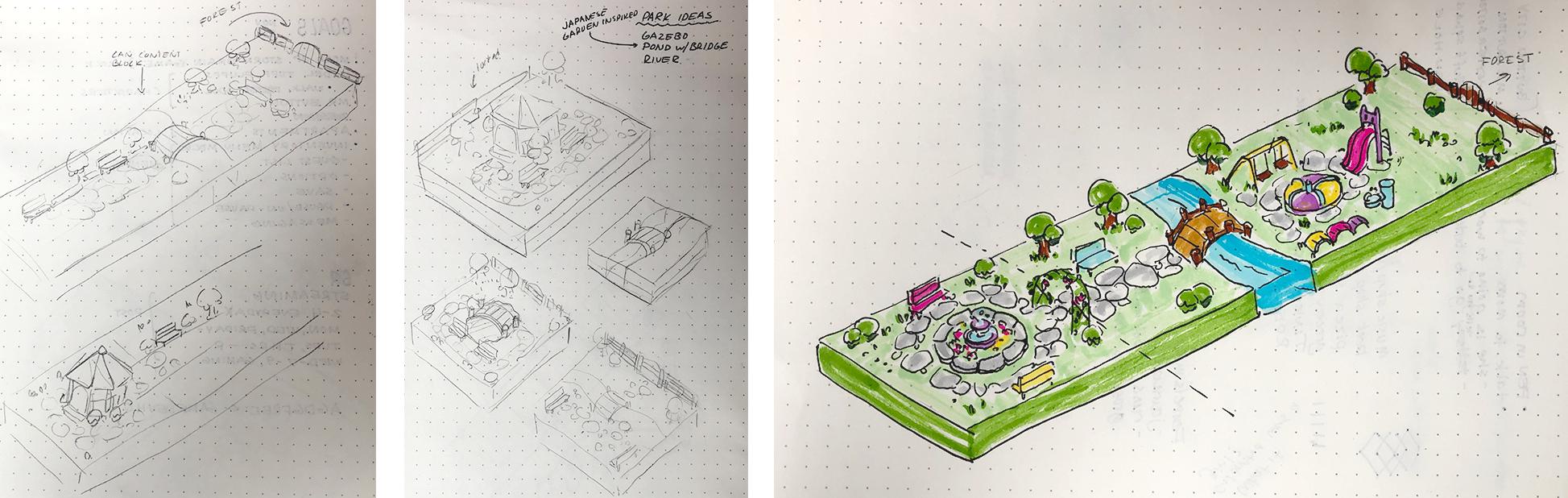 Park concept art!