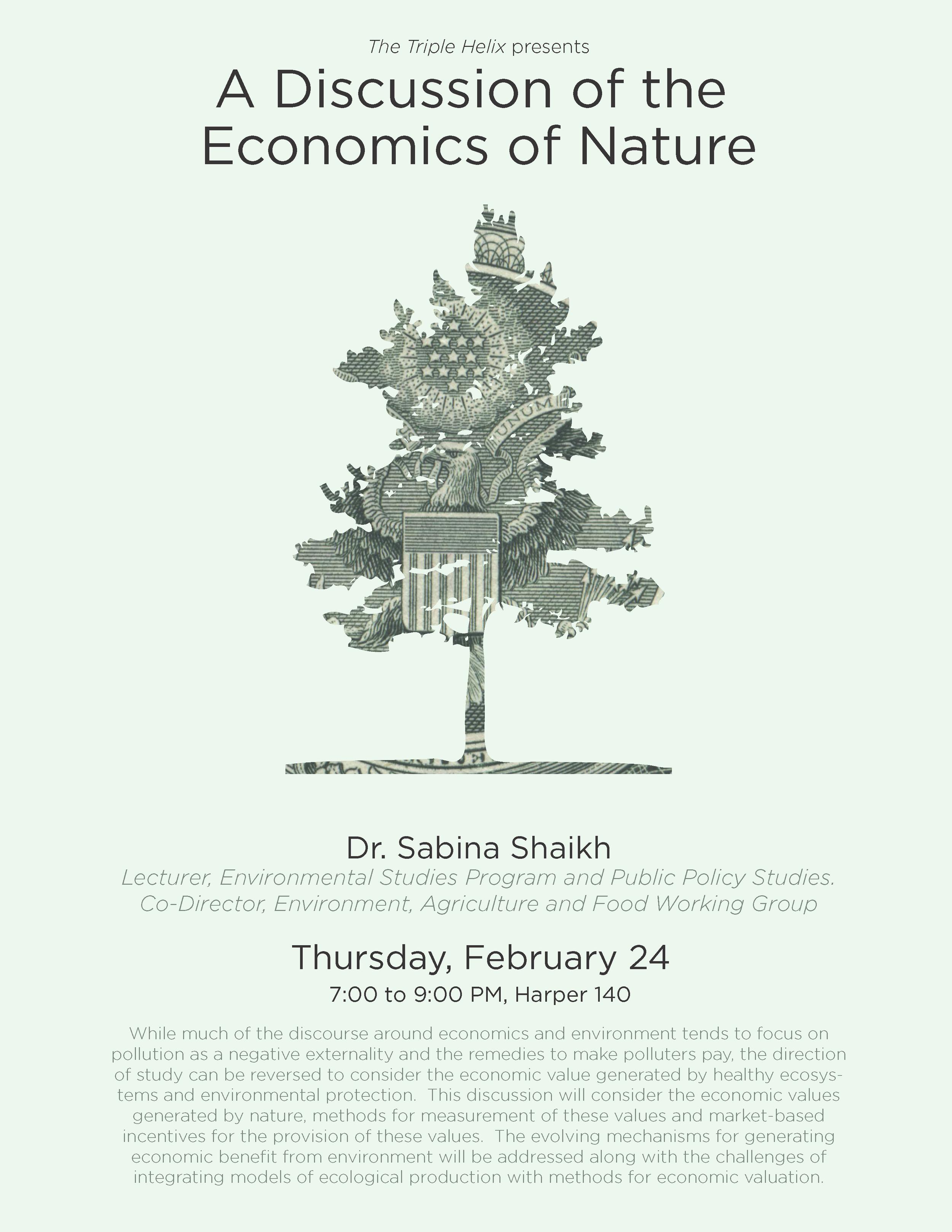 Economics of Nature