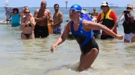 Diana Nyad Key West