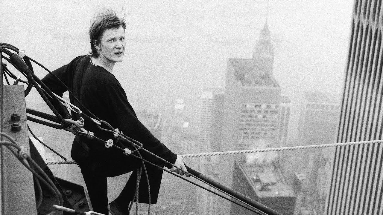 Philippe Petit - The Walk and Richard Brandson