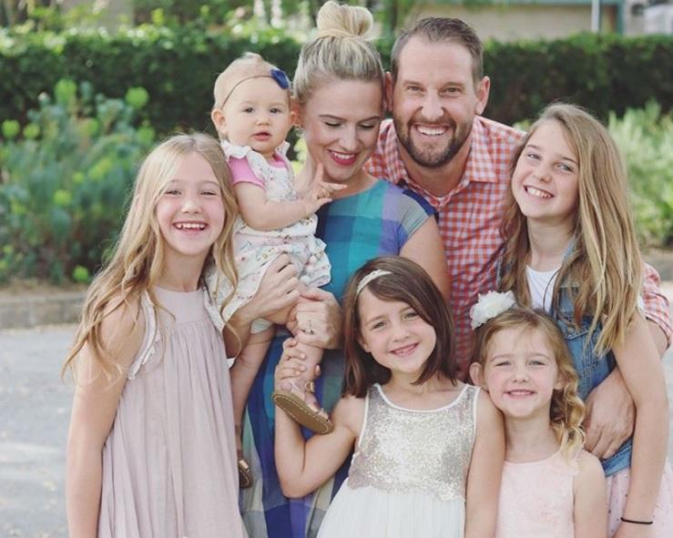 Rachel & her family