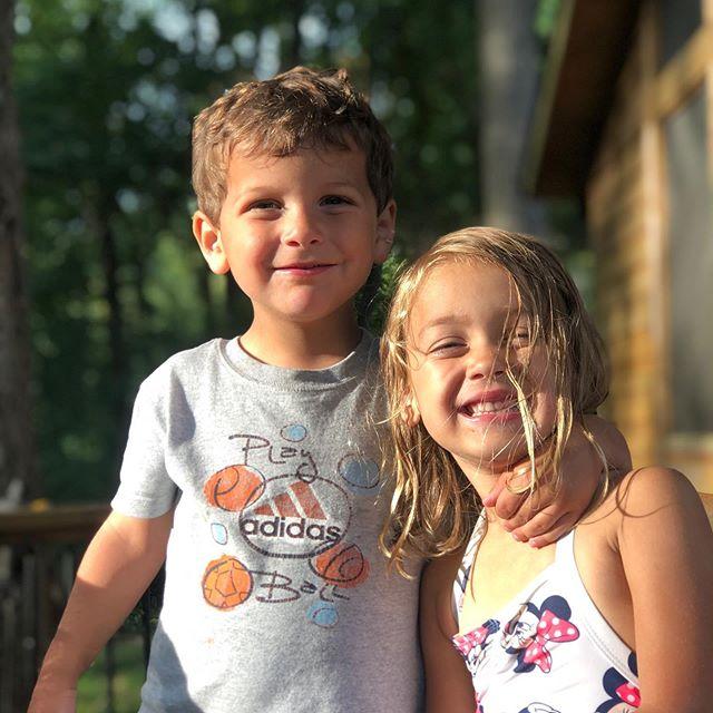 Love that my kids get to grow up with their cousins 🥰 #cousinsandbesties #sundaydinner #everyweekenditsanotherbirthday