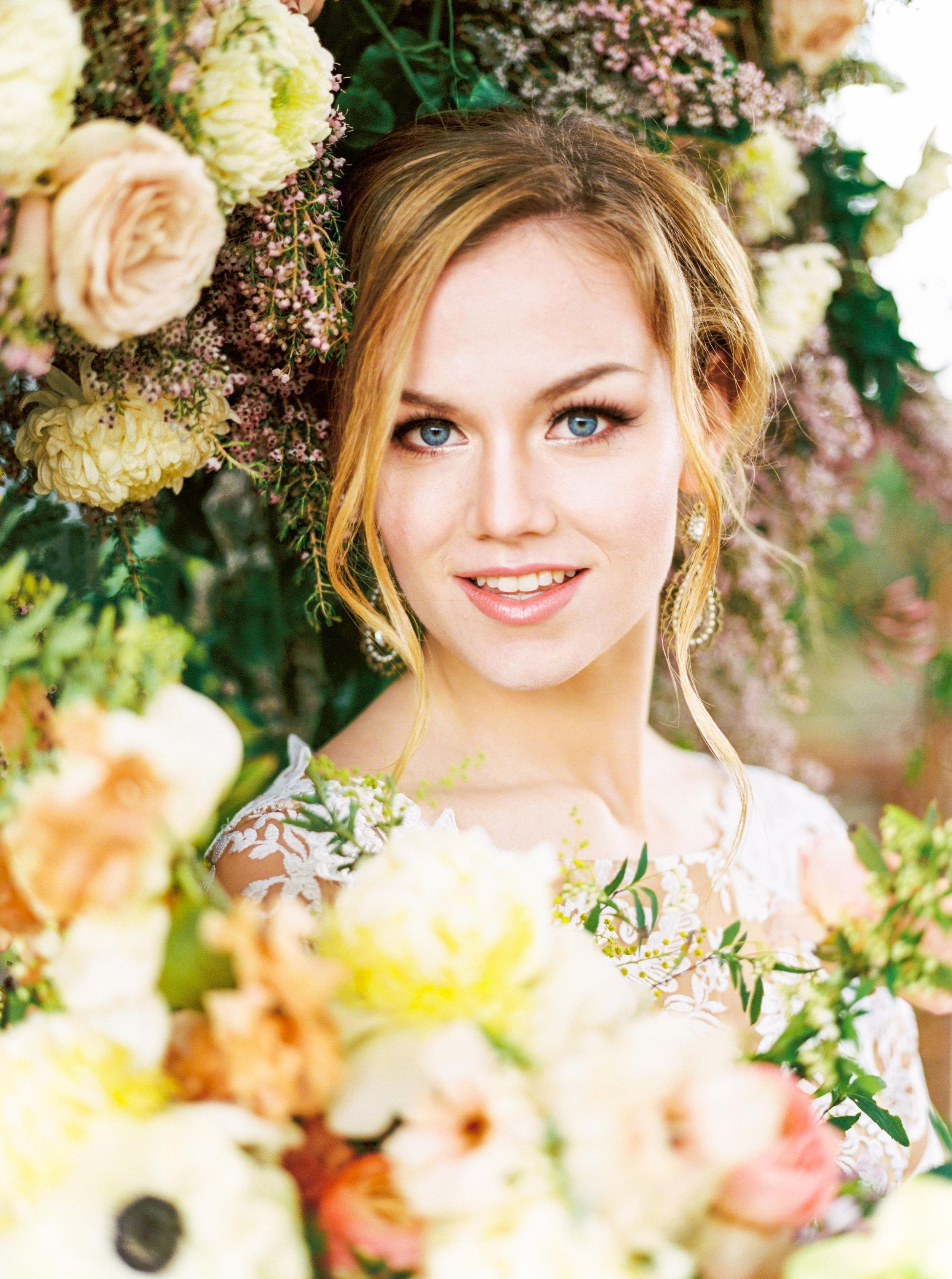 """Glam Spring Garden Wedding"""