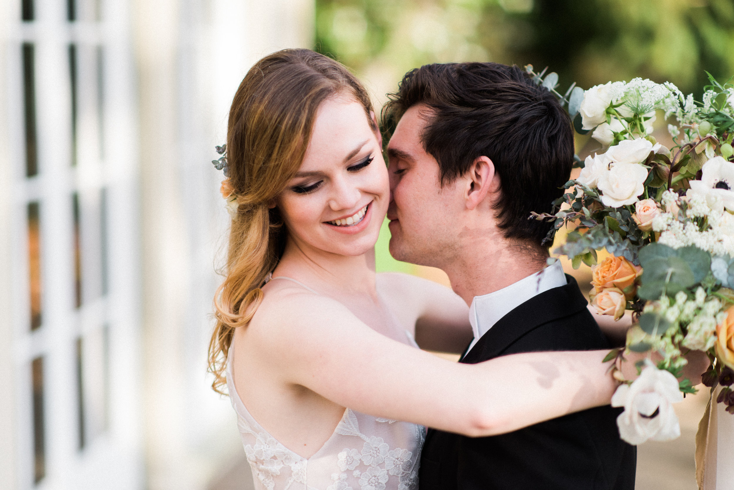 """Magnetic Chateau Wedding"""